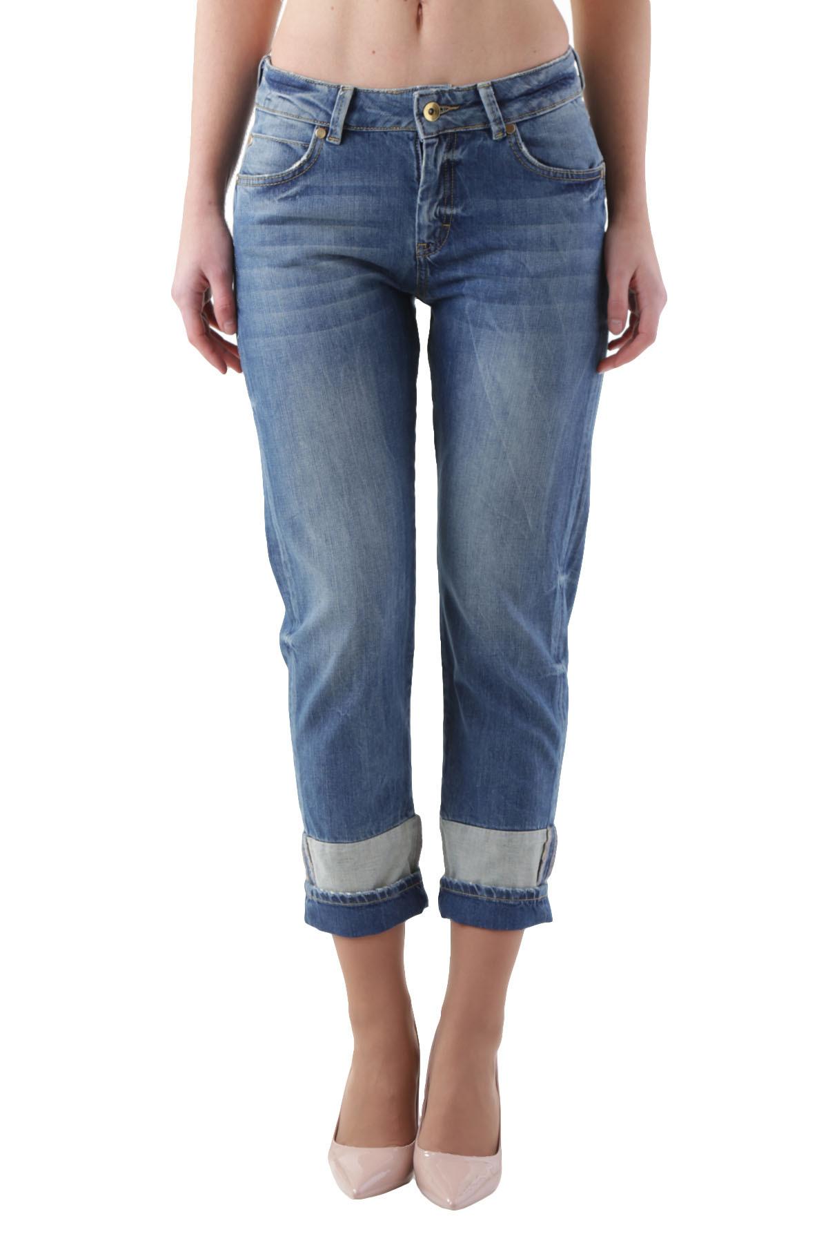 c7c3a0e3f085 GR 104481 Italy blu Cristina Gavioli Jeans Donna - Sped. in 24 48 ore  lavorative