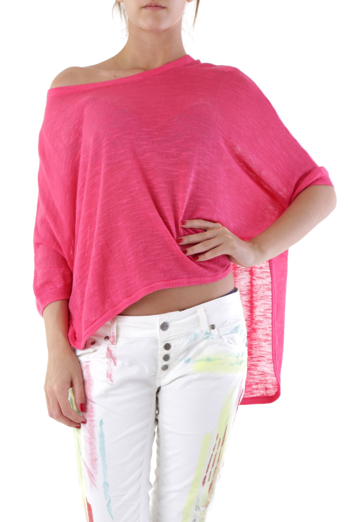 66846-BLOUSE-DONNA-SEXY-WOMAN-COLORE-ROSA