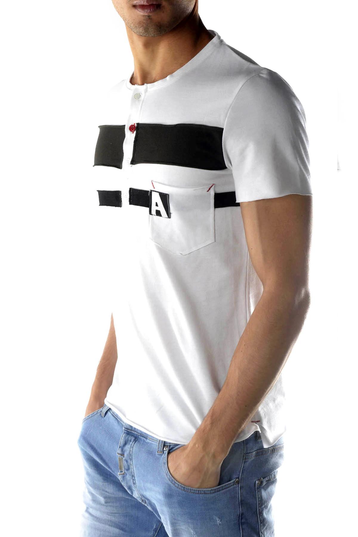 Marchio Absolut Joy Genere Uomo Tipologia T-shirt Stagione Primavera/Estate…
