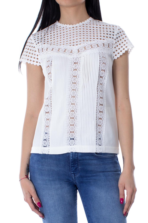 buy online b2c45 e6985 Morgan De Toi T-shirt Donna color bianco   Pablimaca ...
